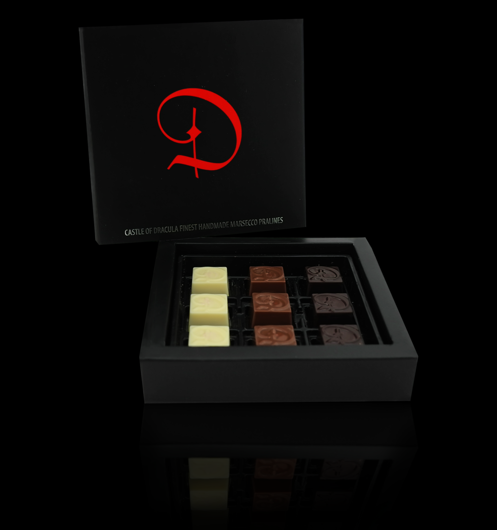 Pralinenkreation 9er Box 75g - MHD: 28.02.2020