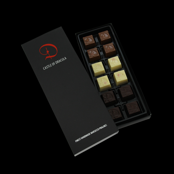Pralinenkreation 12er Box 100g - MHD: 28.02.2020